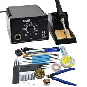 Image 4 - Newest Strong power High Quality 600W  936 Soldering Station Electric Solder Iron    with tips for BGA solder station