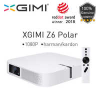 XGIMI Z6 Polar DLP Mini Projector 1080P Full HD Home Theater 4K 700 Ansi 3D Android Wifi Bluetooth Smart Beamer LED Projectors