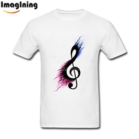 Music Sign Spill Unique Men S T Shirt Music Note Photo T Shirts Music Note Short
