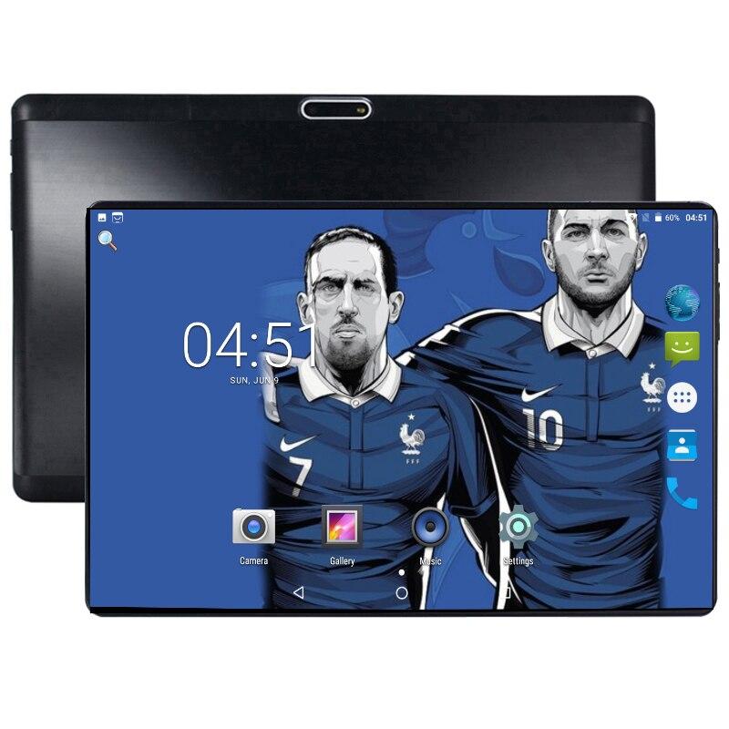 2019 tablette 10 pouces 2.5D écran Android 8.0 tablette Pc 4 + 64 GB 4G LTE téléphone tablette double carte SIM 1280*800 IPS Pc tablette 7 8 9 10
