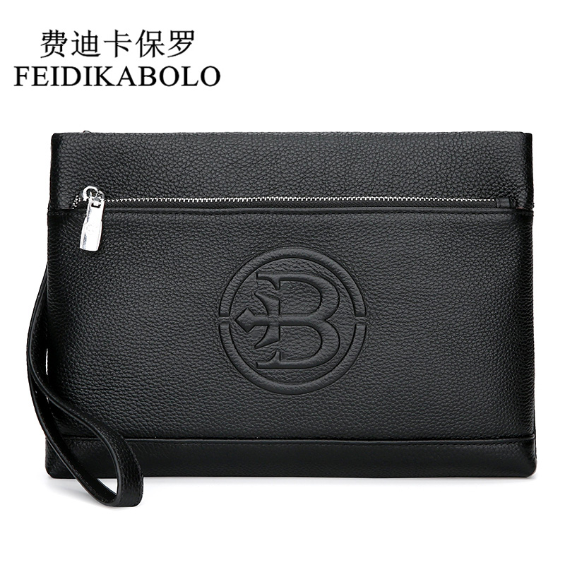 2aecc87309cd FEIDIKABOLO Luxury Male Genuine Leather Purse Men's Clutch Wallets  Carteiras Billeteras Mujer Men Wallets Clutch Man Handy Bags