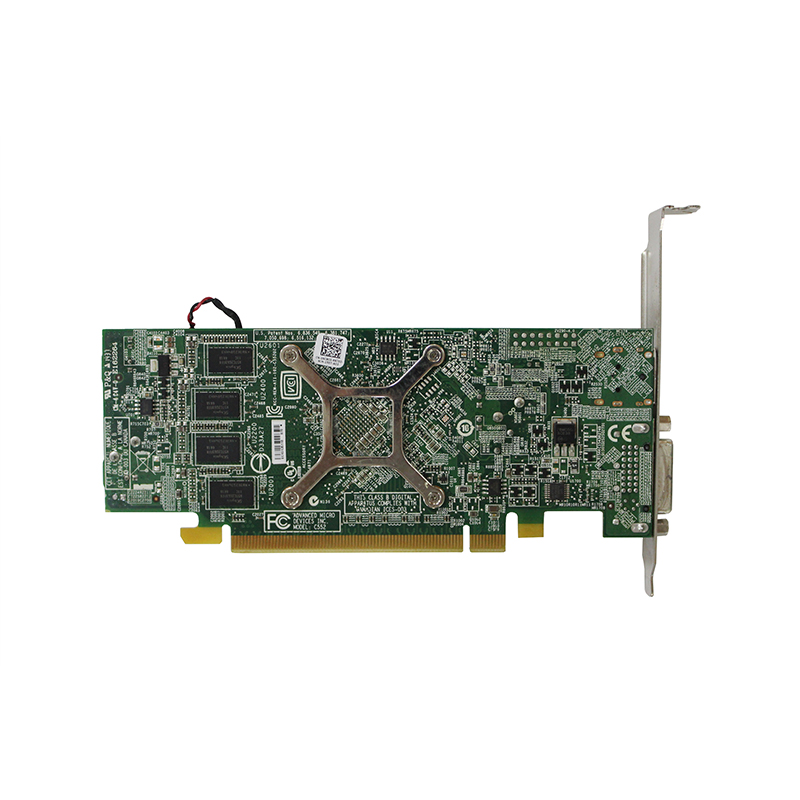 US $49 99 |AMD Radeon R7 250 2G DDR3 desktop Video Graphic Card GPU DP DVI  Output interface For Dell V290 09C8C0-in Add On Cards from Computer &