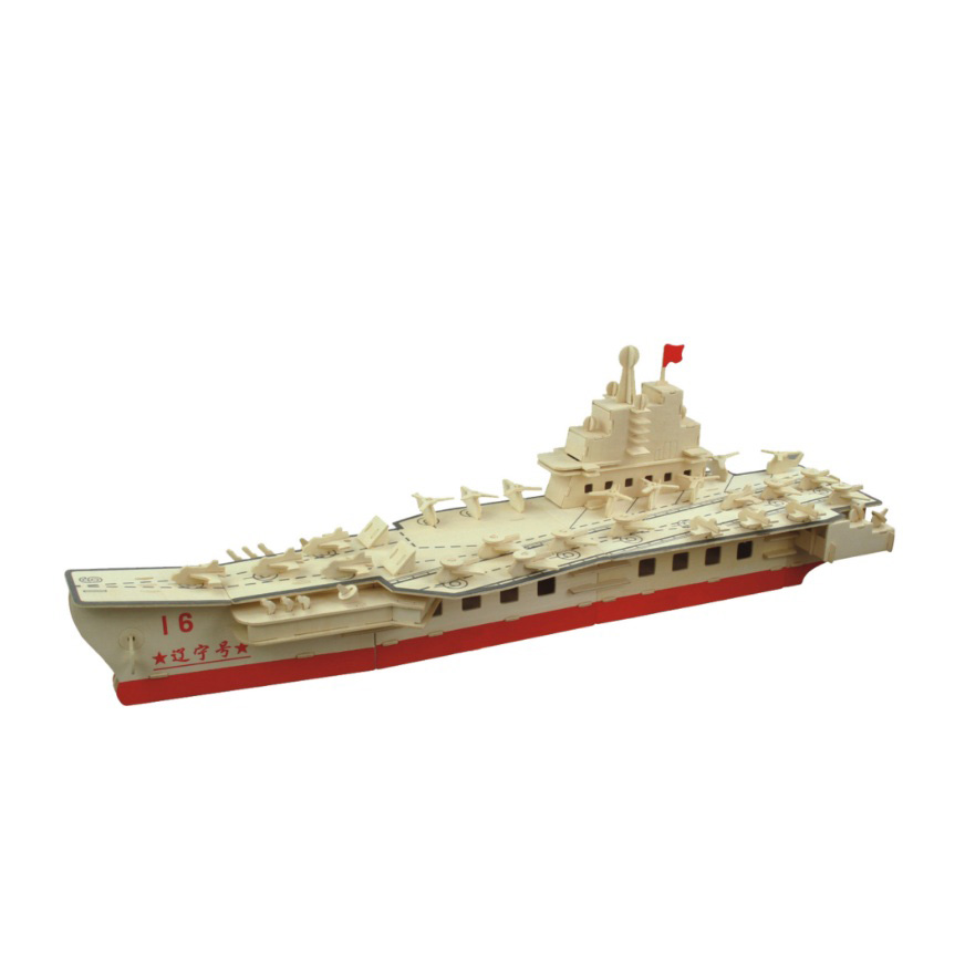 Chanycore bébé apprentissage jouets éducatifs en bois Puzzle 3D avion hélicoptère transporteur navires de guerre bateau de croisière enfants cadeaux 4302 - 4