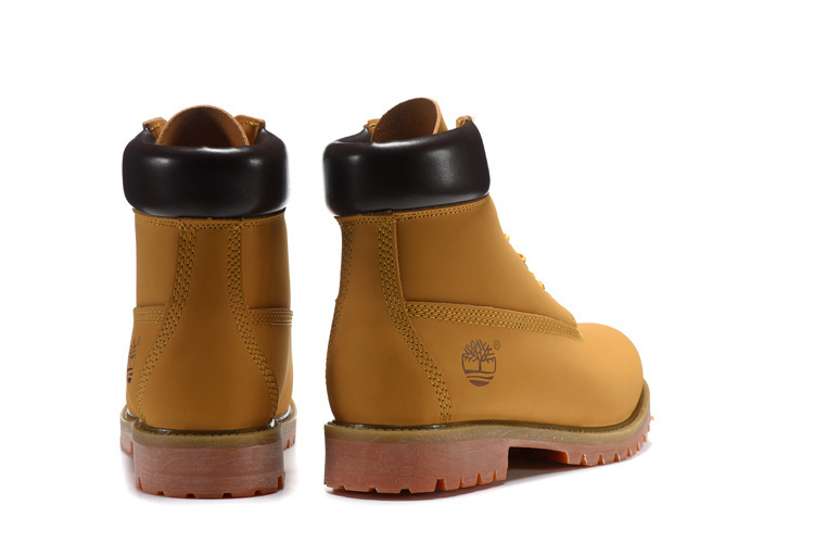 TIMBERLAND Women Classic 10061 Wheat Autumn Yellow Ankle Boots,Woman Leather Timber Casual Shoes Oversea Simple Version 36-40 5