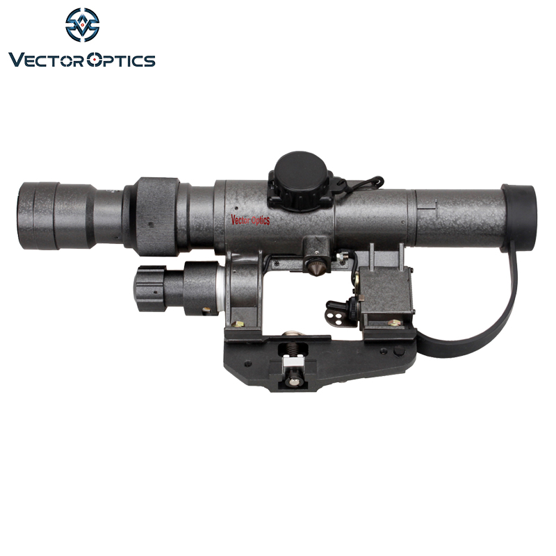 Vector Optics Dragunov 3-9x24 SVD First Focal Plane Sniper Rifle Scope Fit AK 47 FFP Illuminated Weapon Sight Rifle Scope
