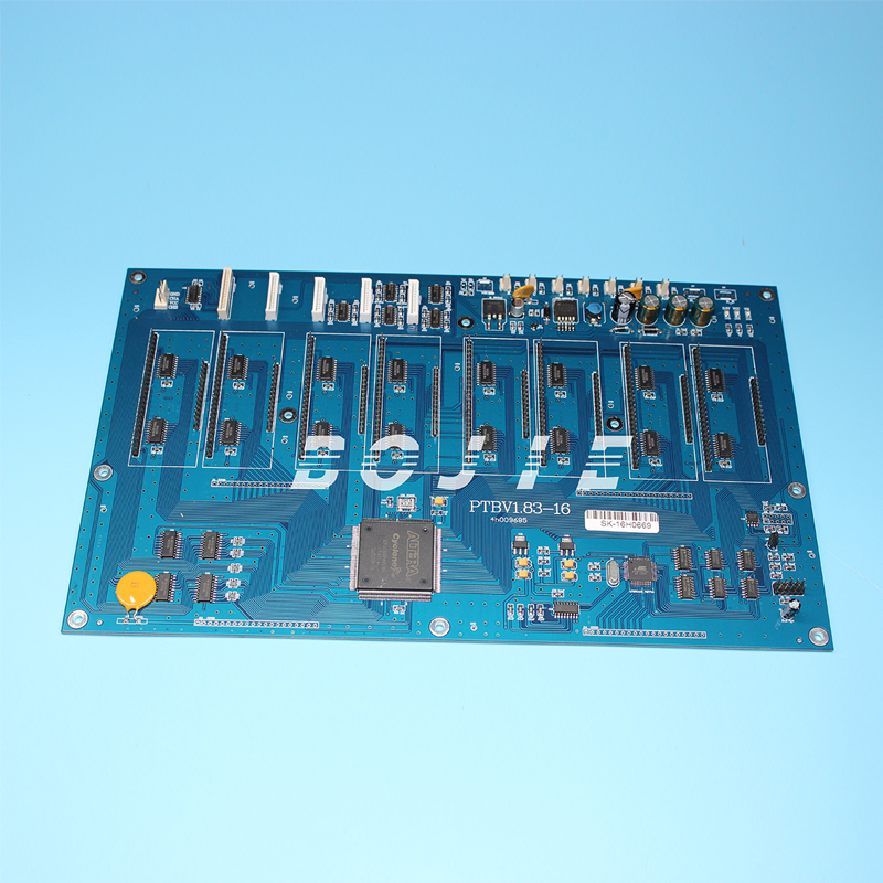 for spt print head 16 heads carriage board for Zhongye solvent inkjet printer generic roland xc 540 xj 540 640 740 head board for 6 heads