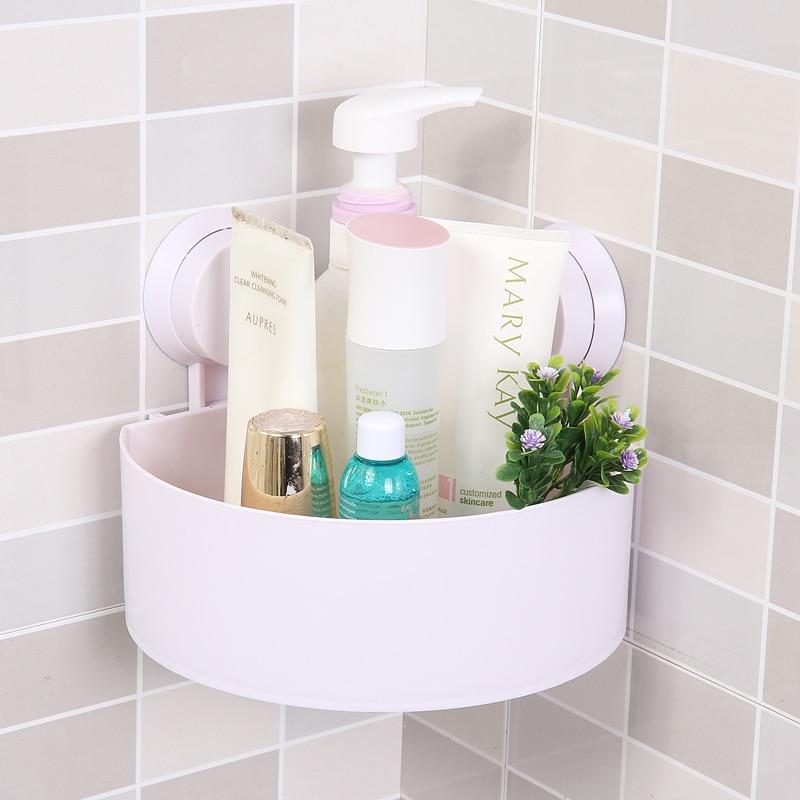 Compra sucker corner shelf bathroom y disfruta del envío gratuito en  AliExpress.com 26b2bf399782