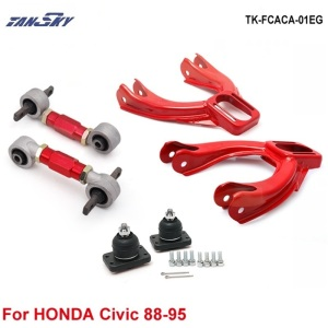 Front Upper Camber Kit:+ Rear Lower Control Arms (Fits For 92-95 Honda Civic EG TK-FCACA-01EG