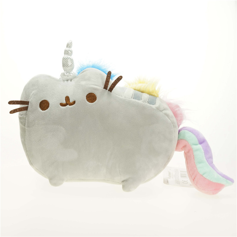 2016 Kawaii Pusheen Cat Brinquedos Plush Toys 2Size Cartoon Rainbow Soft Stuffed & Plush Animals Toys for Children kawaii pusheen cat brinquedos 15cm 23cm donuts cupcake sushi