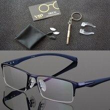 2019 Titanium Tanpa Bingkai Kacamata Bingkai Kacamata Merek Desainer Pria  Kacamata Sesuai Membaca Kacamata Optik Prescpriton Len. 475e960551