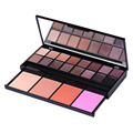 16Color Matte Natural Eyeshadow Pallete + 4Color Blusher Makeup Palette Drawer Model Nude  Smudging Shimmer Eyeshadow Palette