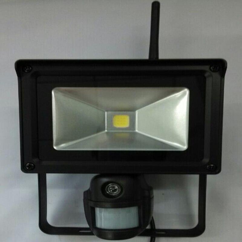 720 p HD WIFI Projecteur IP Caméra avec PIR Capteur pour la Détection De Mouvement Livraison Mobile APP Surveillance Étanche IP56 pour en plein air