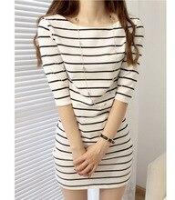 women striped dress 2016 female ladies summer fashion vetement femme vestidos roupa feminina robe boho tunique roupa dresses