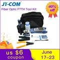 Kit de herramientas FTTH de fibra óptica de 12 piezas con cuchilla de FC-6S fibra y medidor de potencia óptica 30 km localizador de fallas visuales cable de Cable Stripper