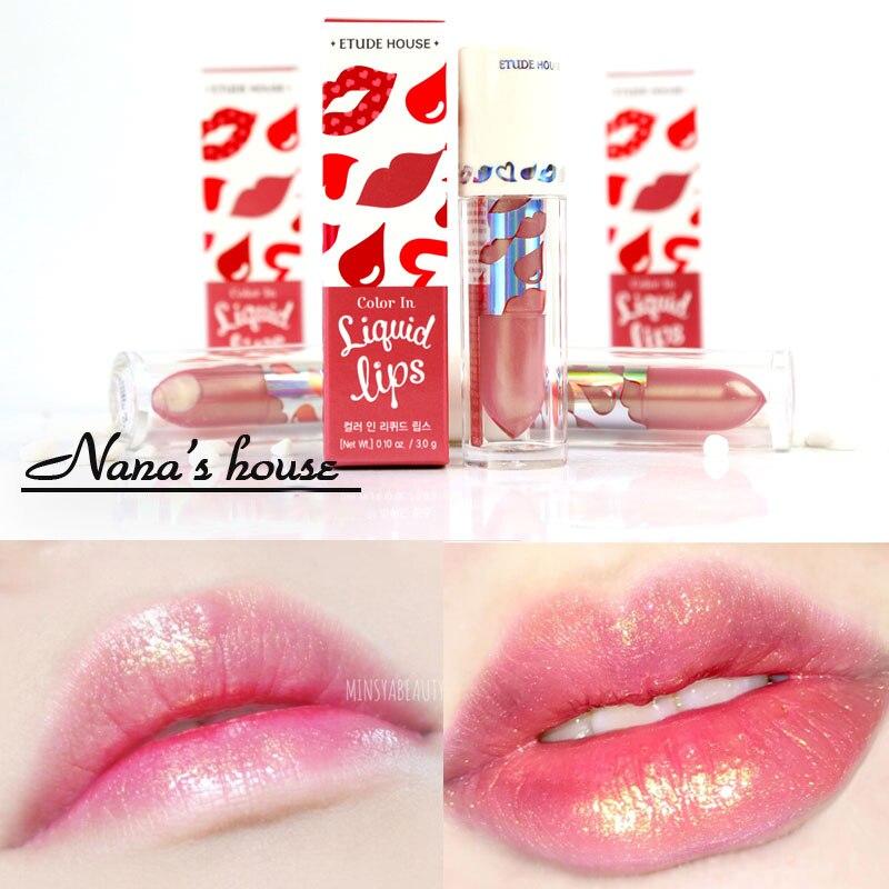 High Shine Color Lip Gloss - Olivia (medium nude blue pink