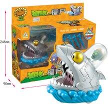 Plants Vs. Zombies Pvz Big Zombie Shark Boss The Building Blocks Figures Legoings Education Toys For Children Gift