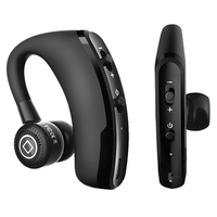 V9 Handsfree Wireless Earphones Bluetooth Noise Cancelling Business Bluetooth Headset With Mic Earphone For Phone Driver
