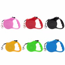 3M/5M Dog Leash Automatic Retractable Dogs Walking Lead Leash Pet Dogs Cat Lead Extending Traction Rope for small medium Dog
