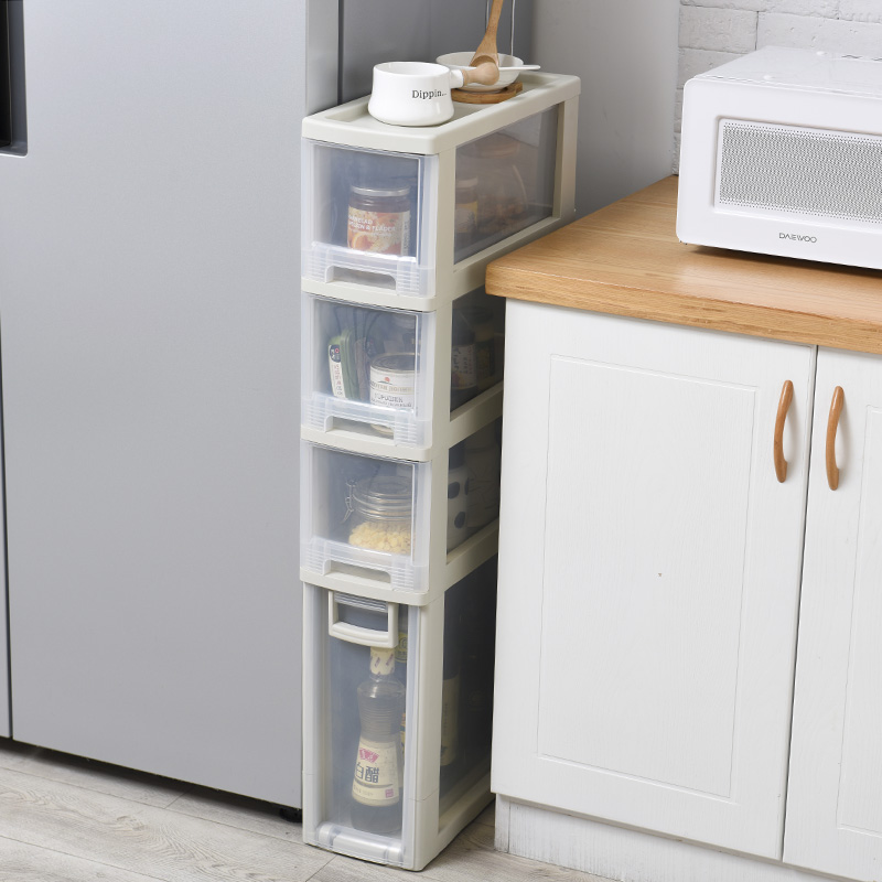 18cm width slot storage drawer cabinet pulley finishing cabinet toy box shoe cabinet plastic drawers cabinet
