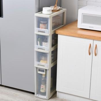 Cajón de almacenamiento con ranura de 18cm de ancho, polea de armario, caja de juguete, armario de zapatos, cajones de plástico, armario organizador