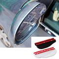 2pcs Auto Rearview Mirror Rain Eyebrow Awnings Shelters Universal Car Rearview Mirror Shade Rainproof Awnings Shelters