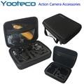 Yooteco Gopro Case Middle Bag EVA Collecting Box for Go pro Hero 4/3+/3/2/1 SJCAM sj4000 SJ5000 Eken H9 Xiaomi Yi Action Camera