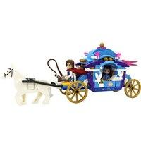 Winner 5001 New Prince & Princess Snow White Carriage Set Building Bricks Blocks minis Educational Girls Toys For Children DIY