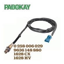 Oxygen O2 Lambda Sensor for Citroen Xsara Picasso Xantia C4 Evasion 96229977 9636148880 0258006029 1628CX 1628HV 101980700
