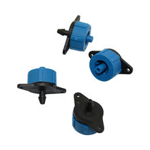 Emisor de presión de 4L/H y 8L/H para jardín, gotero compensador, micromanguera de riego, cabezal de goteo, ahorro de agua, gotero de irrigación, 200 uds.