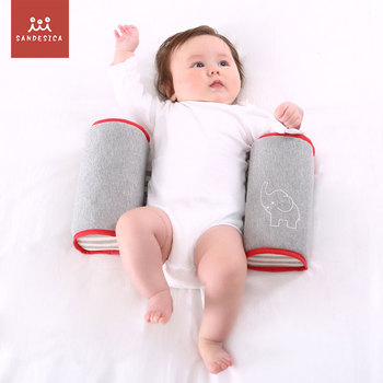 Japan patent Newborn Positioner Anti Roll Child safety pillow Baby anti dropping protect waist Stereotype Pillow