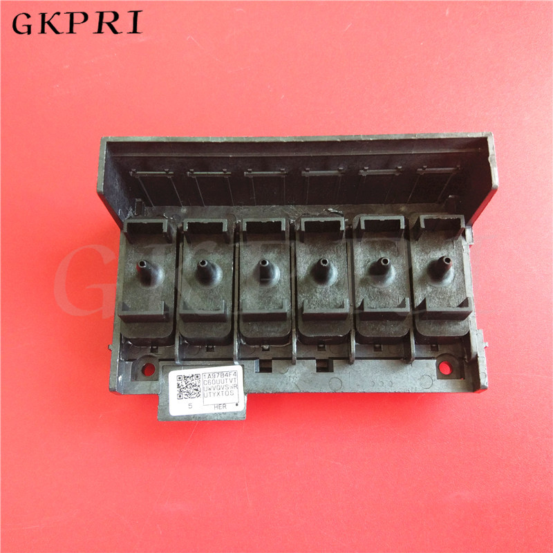Good price!! Free shipping ECO solvent printer XP600 print head covers for Lecai Locor Nuocai XP600 printhead manifold 1pc-in Printer Parts from Computer & Office    1