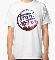 Trap Nation Galaxy Men S White Tees Shirt Clothing T Shirt Men Casual Cotton Short Sleeve
