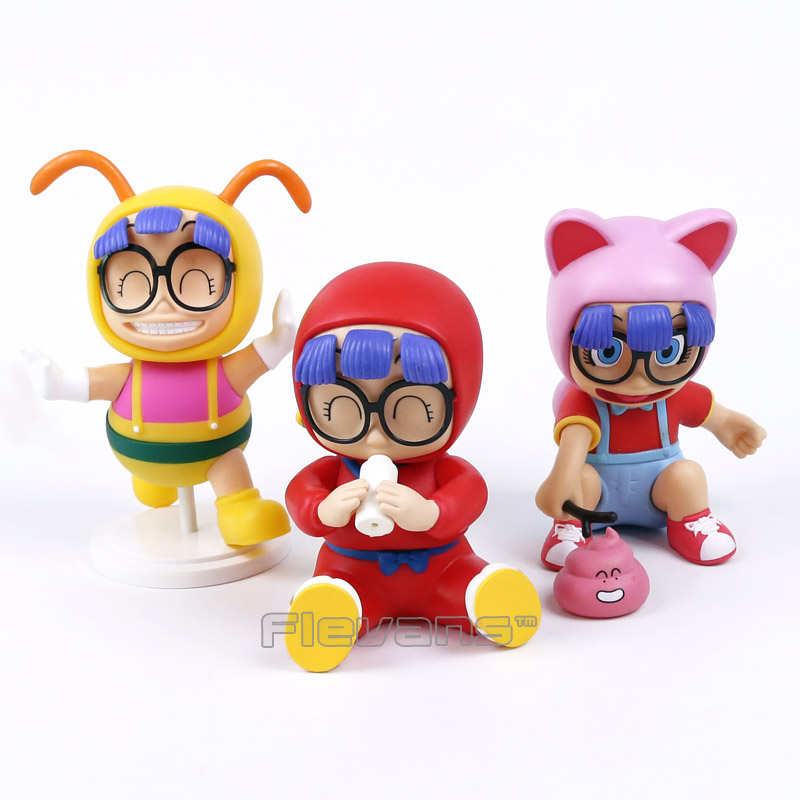 Arale Figure Anime Cartoon Dr. Slump PVC Action Figure Collectible Model Toy Children Kids Gift 6 Types arale figure anime cartoon dr slump pvc action figure collectible model toy children kids gift 6 types