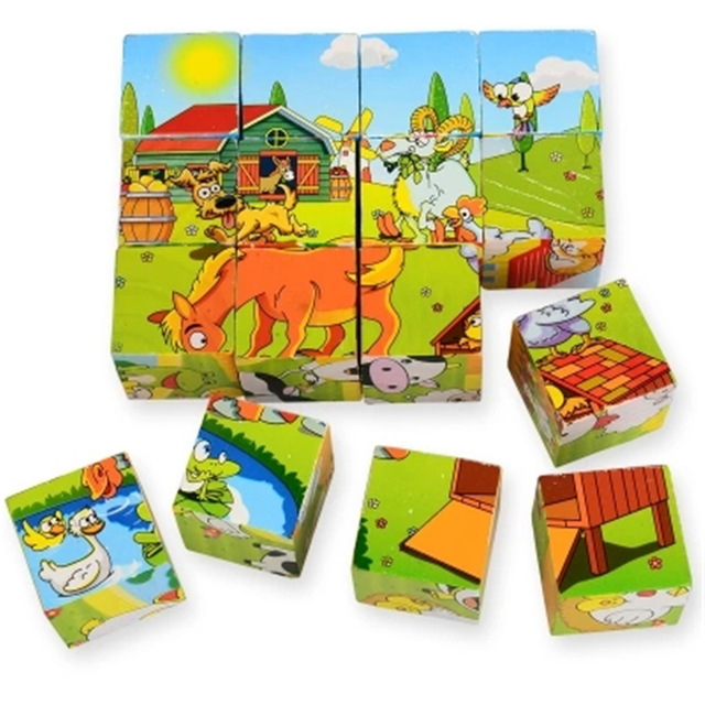 Puzzles For Children 6 Years Wooden Puzzle 3d Board Games Kids Christmas Decorations Educational Toys