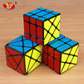 YJ Axis yongjun wheel magic speed cube professional sticker Fisher skew cubo magico educational toys for children