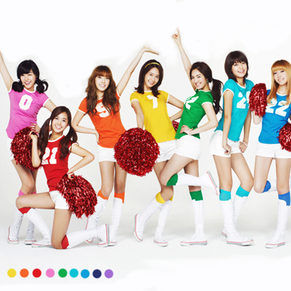 Wholesale School Girls GENERATION Candy Color CHEER Set ,Athletic Gym Dance Sport Women kit,cheering squad suit :Top+short+socks
