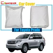 Cawanerl крышка автомобиля УФ анти козырек от солнца снежной и дождливой погоды Нескользящая Защитная крышка для Toyota Prado качество ордер!