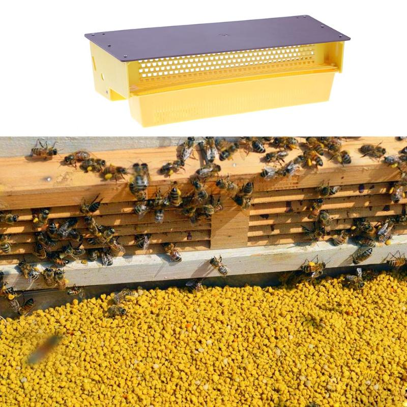 Multifunctional Plastic Pollen Collector Removable Ventilated Pollen Tray Farm Bee Honey Hive Pollen Collector Beekeeping Tools