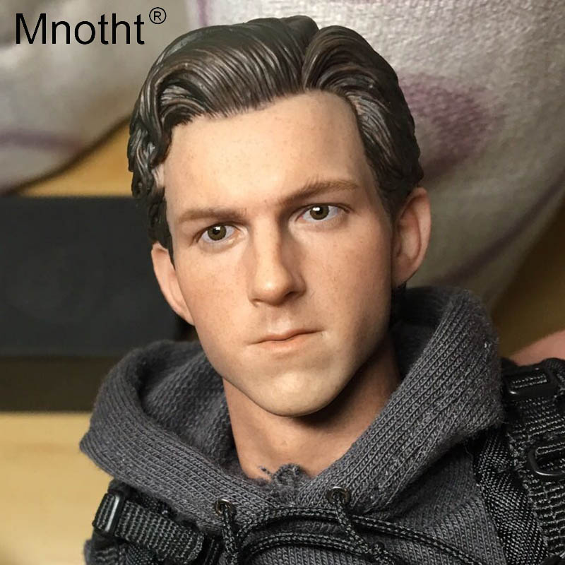 Mnotht Male Head Sculpt 1/6 Scale Spider Man Action Figures Toys for 12inch Man Soldier Model Hobbies Collections