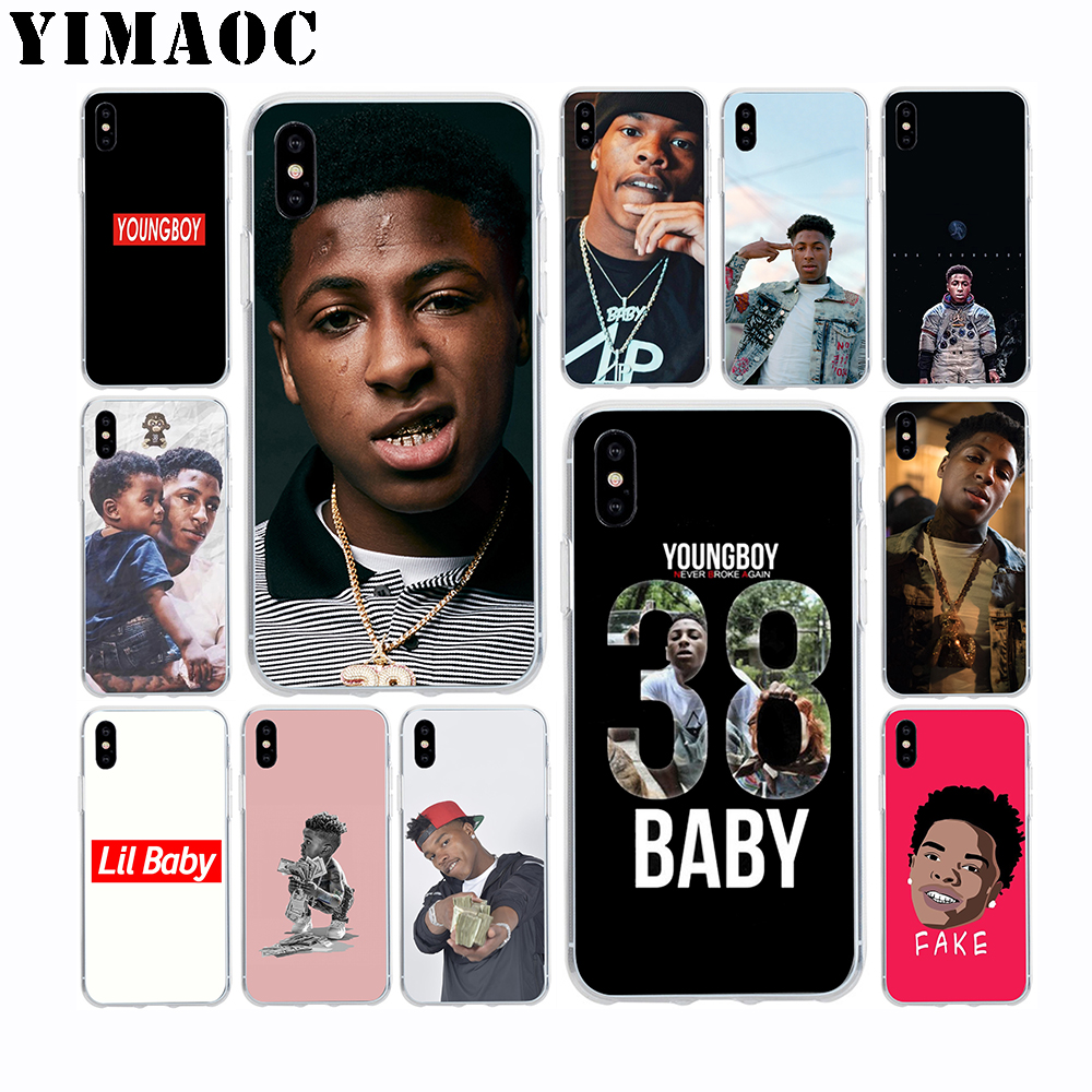 new style ecf06 bec56 US $1.97 21% OFF|YoungBoy Never Broke Again Lil Baby Soft Silicone Case for  Apple Iphone Xr Xs Max X 10 8 Plus 7 6S 6 Plus SE 5S 5 7Plus 8Plus-in ...