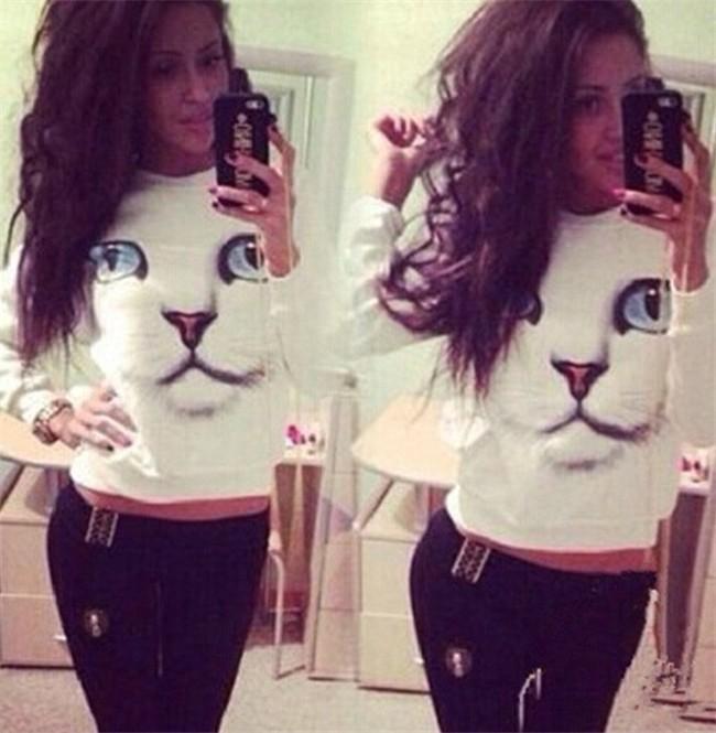 3D Cat Sweatshirts ( S - Xl)