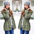 Женская Теплый Мода Капюшоном Длинное Пальто Тренч Пальто Куртки И Пиджаки