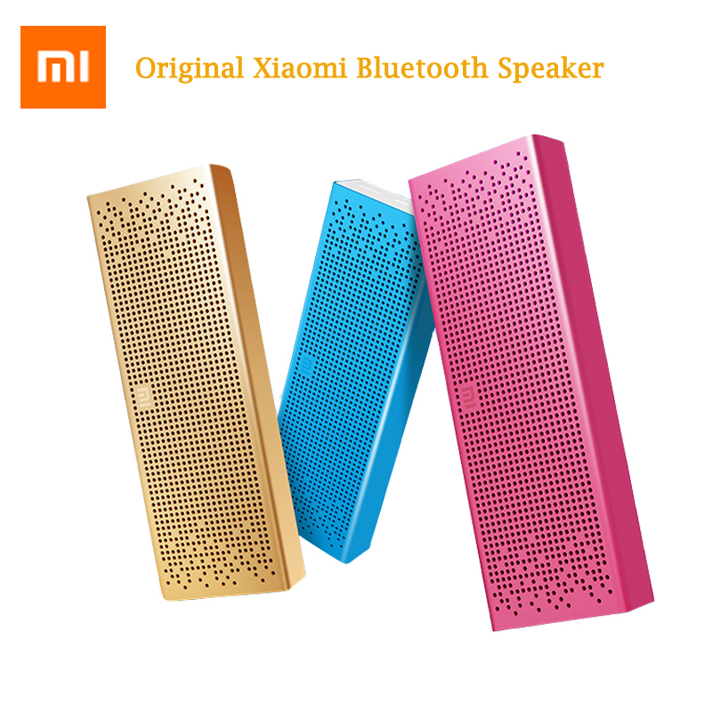 XIAOMI Mi Mini Portable Wireless USB Bluetooth Speaker Column Loudspeaker Vibrating Speakers Music Bluetooth Player Receiver tronsmart element t6 mini bluetooth speaker portable wireless speaker with 360 degree stereo sound for ios android xiaomi player