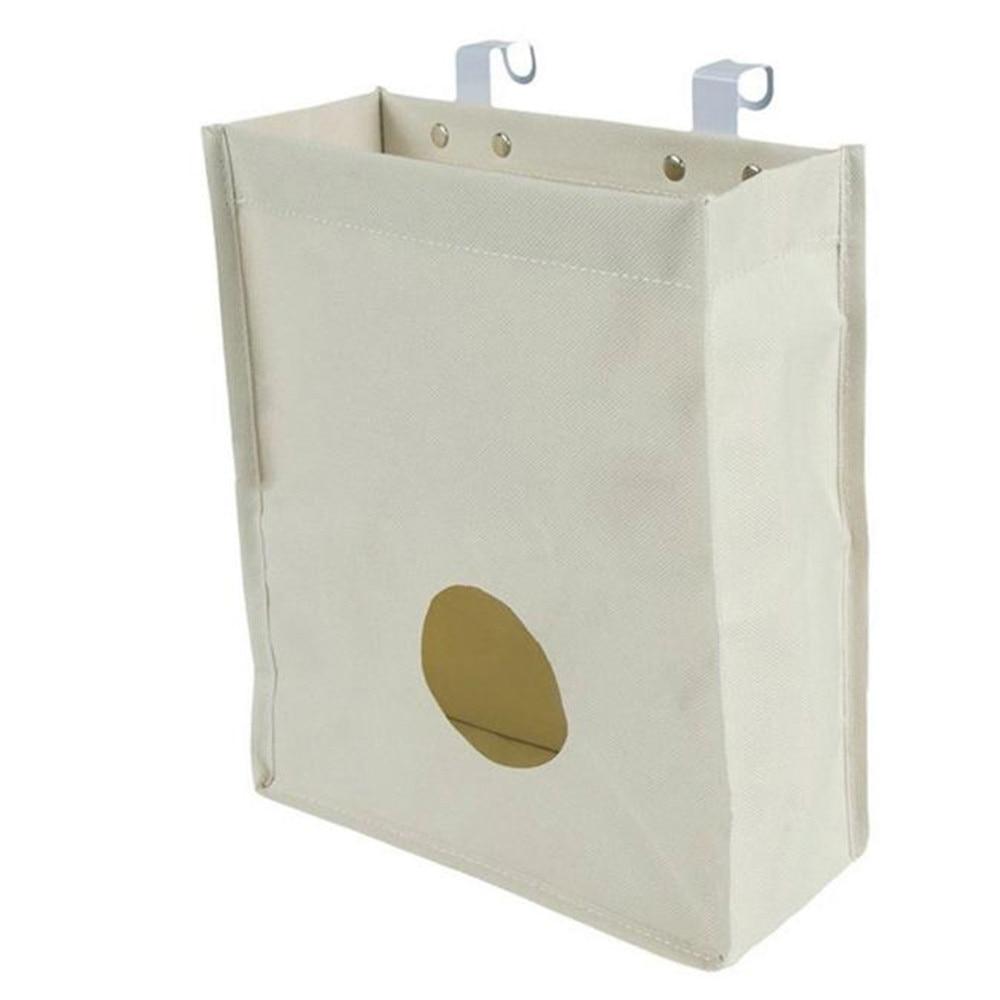 Plastic Organizer Breathable Mesh Garbage Bags Kitchen Hanging ...