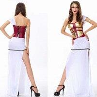 Sexy Woman Ancient Greek Goddess Athena Cosplay Halloween Belly dance Costume stage show Rave party Nightclub Bar Arabian dress