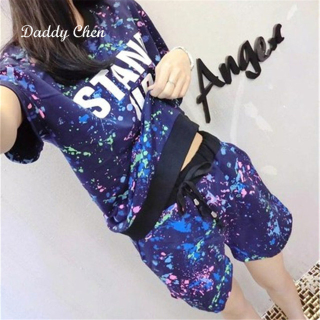 Women Pajamas New Fashion 2018 Cotton Short Sleeve Shorts Leisure Suits Household To Take Female Two Pieces Sets Summer Pajamas