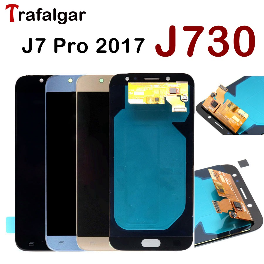 For 5 5 Samsung J7 2017 LCD Pro J730 Display Touch Screen Digitizer Assembly Replacement For
