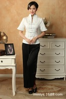 Chinese Tang Suit Costume Women's Linen jacket coat size: M 3XL