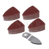 CNBTR Oscillating MultiTool Polishing Finger Sanding Pad Disc Sanding Sandpaper Sheet Set Of 5