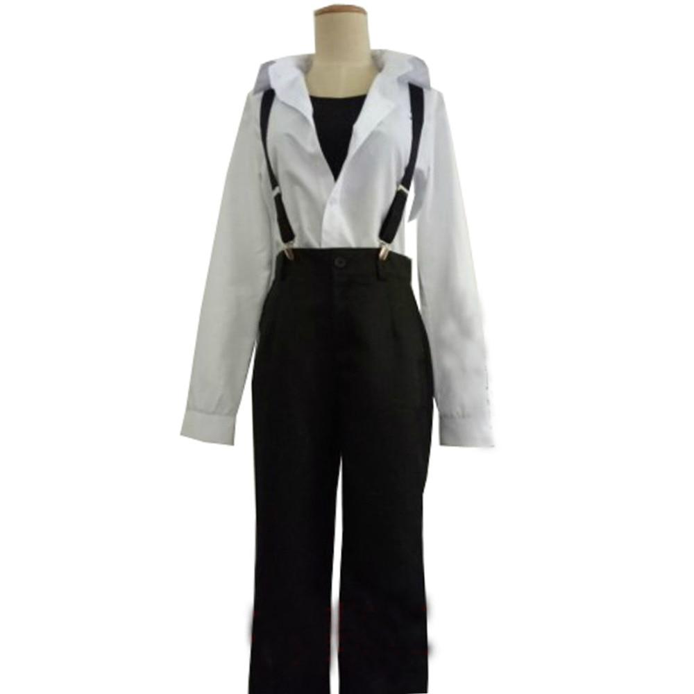 2017 YURI sur GLACE Plisetsky T-shirt Blanc Blouse Hauts Pantalons